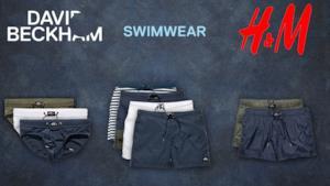 H&M e David Beckham: nuova collezione di costumi per l'estate 2014