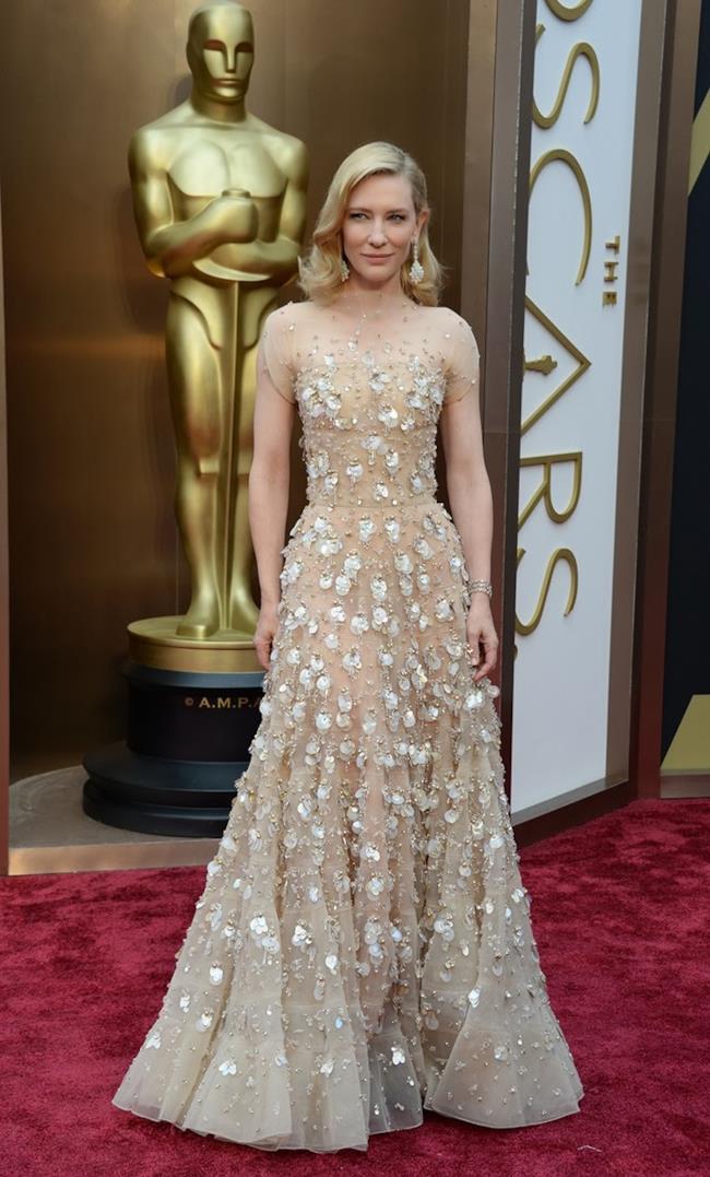 Cate Blanchett agli Oscar 2014