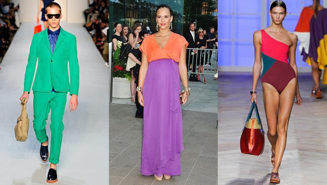 Lo stile color blocking ti aiuta a colorare di carattere i tuoi outfit