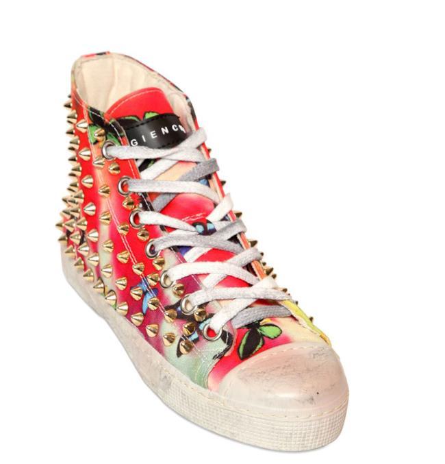 Saldi 2014: sneakers di Gienchi con borchie su LUISAVIAROMA