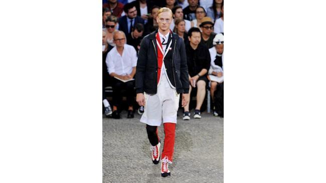 La nuova collezione di Moncler per la primavera estate 2015 uomo, Milano Fashion Week
