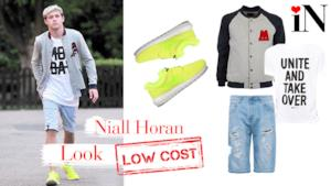 Il look sportivo del cantante dei One Direction Niall Horan