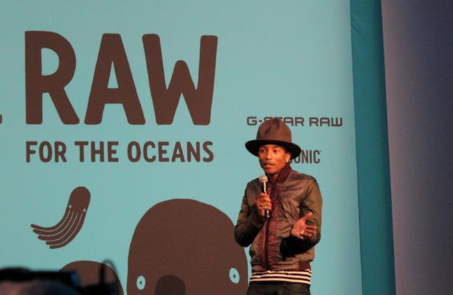 G-Star Bio con Pharrell Williams