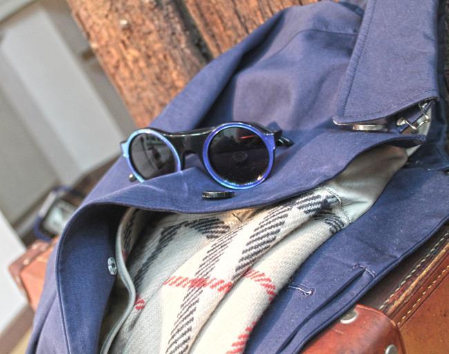 Capospalla di Burberry e sunglasses Un1co di Glassing