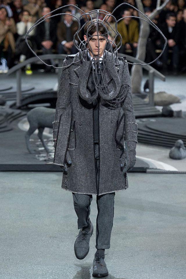 Per la Paris Fashion Week 2014 Thom Browne lancia la sua collezione autunno-inverno 2014