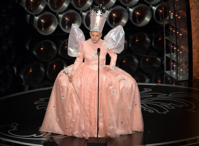 Ellen DeGeneres performance at Oscars 2014