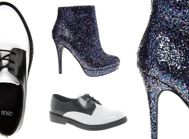 Francesina e scarpa Glitter un accoppiata vincente