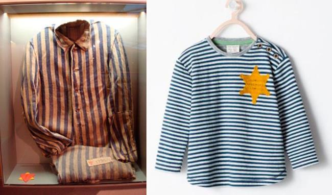 Zara ritira la maglia da bambino perchè assomiglia alla divisa degli ebrei nei campi di concentramento