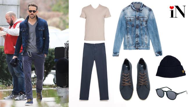 Ryan Reynolds e il look perfetto per la summer 2014