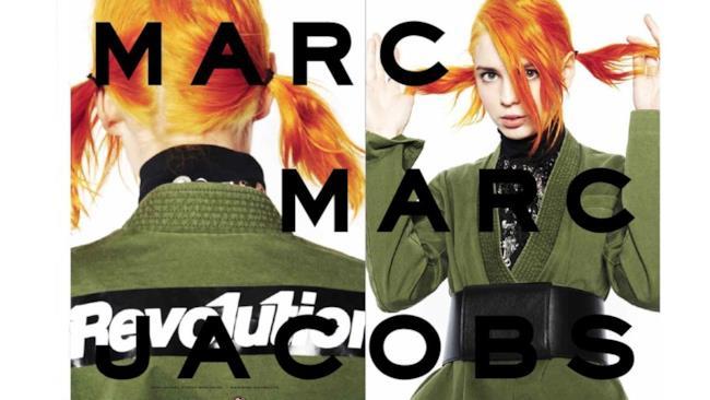 Marc Jacobs lancia la nuova campagna per l'autunno inverno 2014