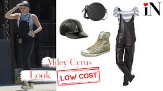 L'outfit di Miley Cyrus per un stile urban di forte tendenza