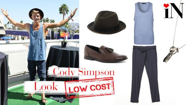 L'outfit casual per assomigliare a Cody Simpson, con prezzi low cost