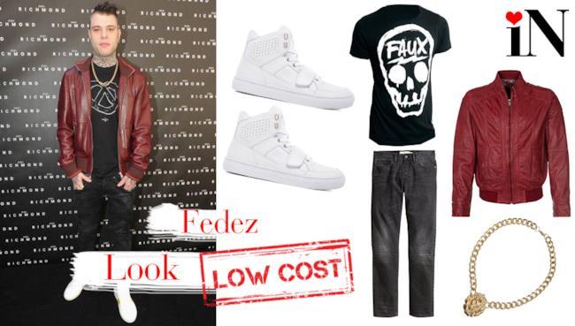 L'outfit per assomigliare al cantante Fedez con capi low cost