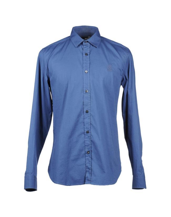 Camicia azzurra di Moschino