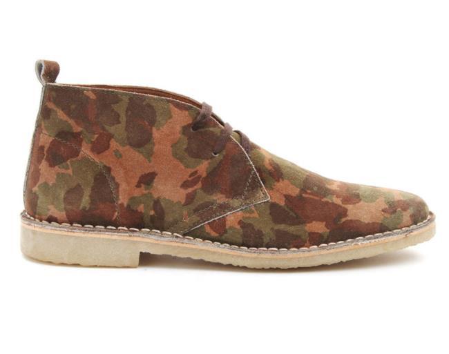 Shopping list della settimana: scarpe camouflage da uomo