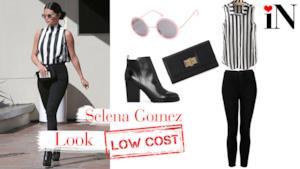 Selena Gomez con un look bon-ton dai prezzi low cost