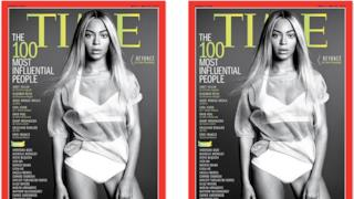 TIME: Beyoncé cover girl