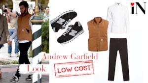 L'outfit di Andrew Garfield a Venezia