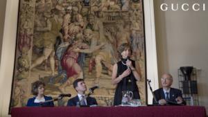 Gucci restaura dieci arazzi a Firenze con l'Opificio delle Pietre Dure