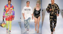 London Fashion Week: Moschino fashion show by Jeremy Scott