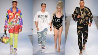 London Fashion Week: Moschino fashion show by Jeremy Scott