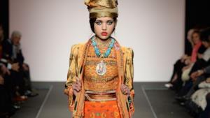 ALTAROMA 2014 sfila Curiel Couture