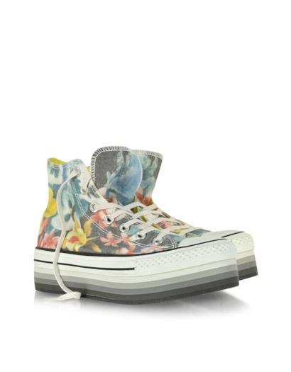 Sneaker All Star Eva con fantasia a fiori