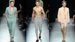 Bottega Veneta spring summer collection 2015, uomo