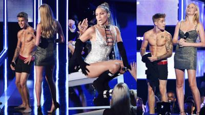 Fashion Rocks 2014: i migliori look da performance da Justin Bieber nudo a Nicki Minaj con Anaconda
