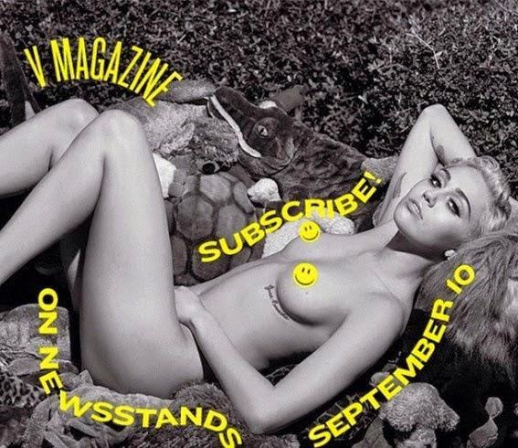 La cantante americana su V MAgazine di settembre