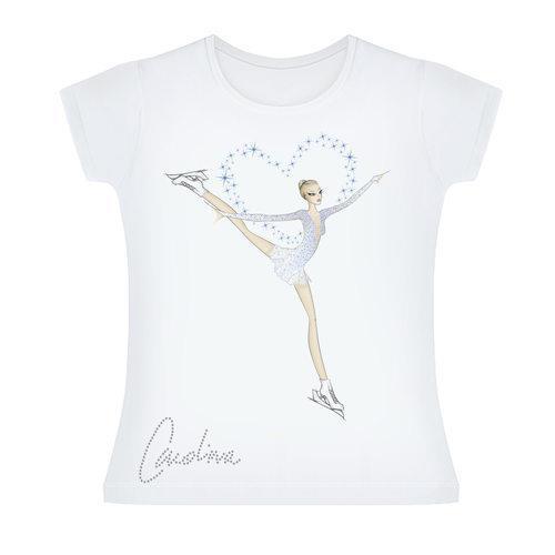 La maglietta di Carolina Kostner che sarà presentata il 4 giugno alla Rinascente