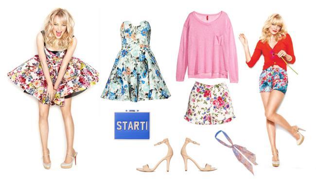 Due look low cost dell'attrice americana Emma Stone da indossare nella tua estate 2014