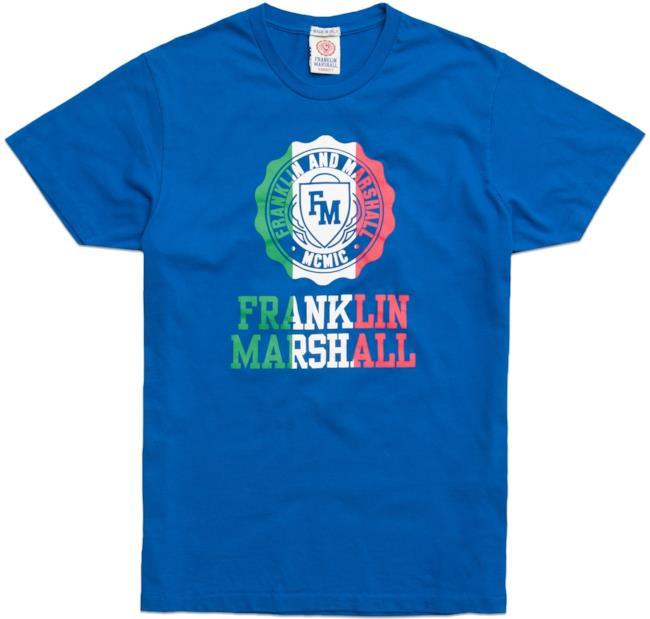 La t-shirt della capsuel collection per la FIFA World Cup 2014 firmata Franklin & Marshall