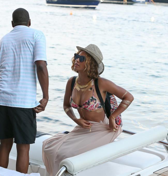 Il bikini di Beyoncé a Portofino, Italia settembre 2014