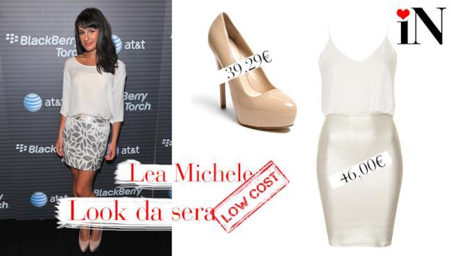 L'outfit per assomigliare a Lea Michele