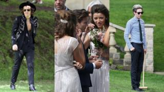 I One Direction al matrimonio della mamma di Louis Tomlinson