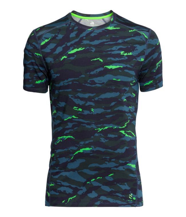 Per la shopping list della settimana una maglia sportiva in camouflage