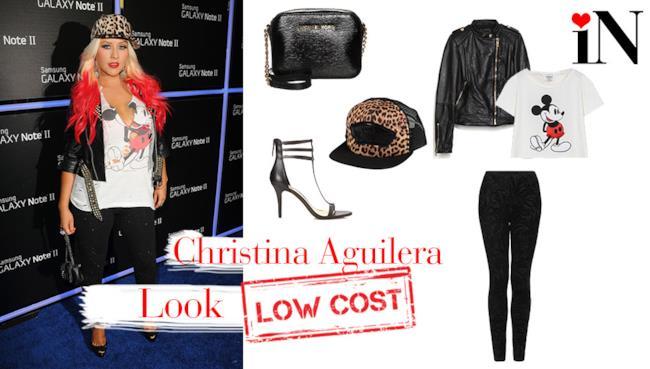 Outfit low cost per assomigliare a Christina Aguilera