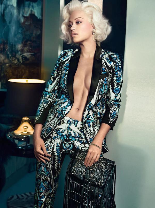 Rita Ora è la testimonial della campagna di Roberto Cavalli autunno inverno 2014