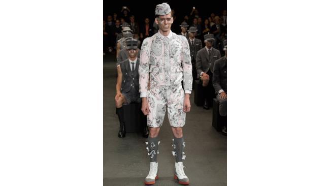 La collezione di Thom Browne per la primavera estate 2015, Paris Fashion Week