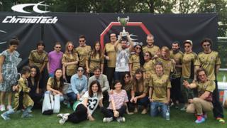 La finale della Chronotech League si è tenuta Milanello e ha visto vincere la Liguria