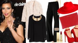 San Valentino 2014: l'outfit in stile Kim Kardashian