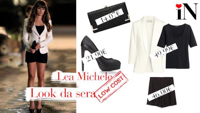 Il look da sera per assomigliare alla cantante di Glee Lea Michele