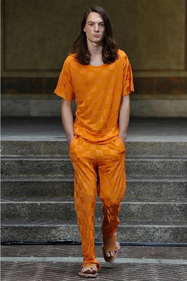 La nuova collezione di Julian Zigerli per la primavera estate 2015, Milano Fashion Week