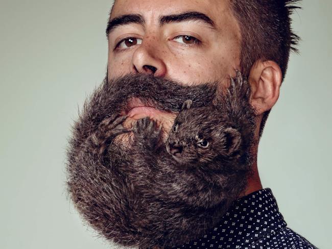 I roditori al posto della barba nella nuova pubblicità della Schick