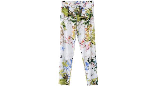 I migliori pantaloni di pantaloni fiorati da donna per l'estate 2014