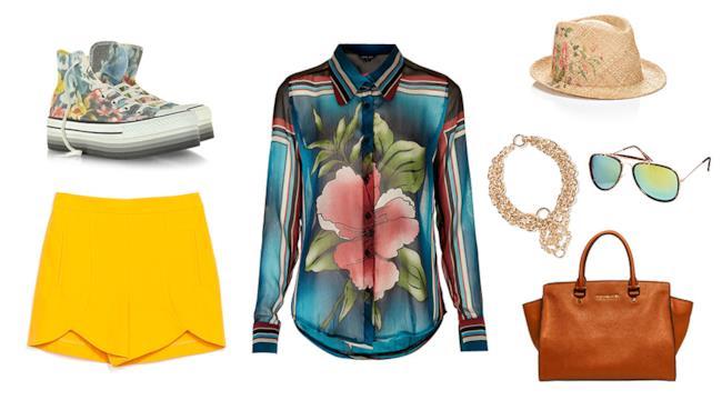 Colora il tuo outfit con fantasia floreali