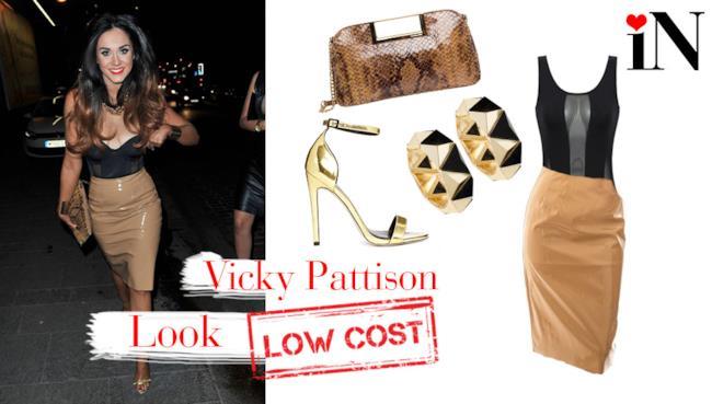 L'outfit perfetto da sera per uno stile alla Geordi Shore come Vicky Pattison
