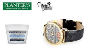 L'acido ialuronico di Planter's dall'azione anti-age e l'orologio Millelire per la tua estate 2014
