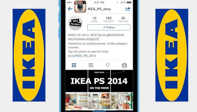 La nuova idea di proporre il catalogo Ikea su Instagram